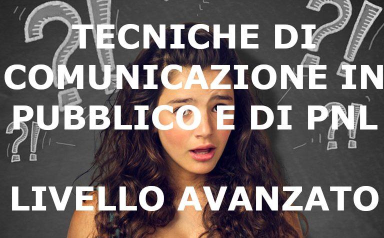 Comunicazione in pubblico e PNL avanzato
