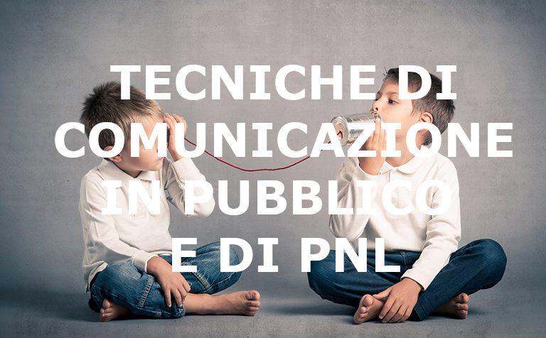 Comunicazione in pubblico e PNL base